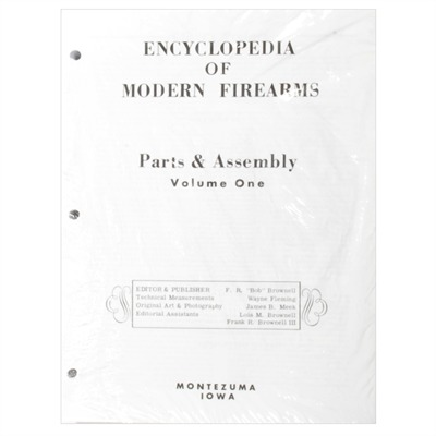 Brownells Encyclopedia Of Modern Firearms- Loose Leaf Edition