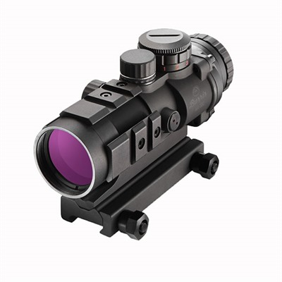 Burris Ar-332 3x Red Dot Sight W/Fastfire Ii - 3x32mm Ballistic Cq W/4 Moa Fastfire 2