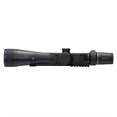 Xtb Weaver-Style Solid Steel Bases - 4-16x50mm Eliminator Iii X96 Reticle W/Wired Remote