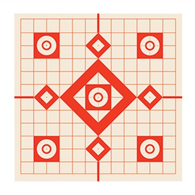 Burris Sight-In Targets - Sight-In Paper Target 12  X12   10pk