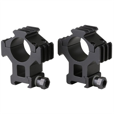 Tactical Tri-rings 30mm Scope Rings W / picatinny Rails : Optics & Mounting by B Square for Gun & Rifle
