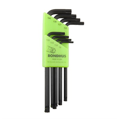 Image of Bondhus Prohold Star Tip L-Wrenches