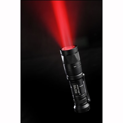 Surefire Aviator Dual Output Light - Aviator Dual Output White/Red Light 3v Black