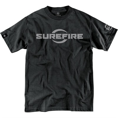 Surefire Logo T-Shirt - Surefire Logo T-Shirt Black Small