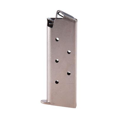 Colt Factory Magazines Mustang 380 6 Round Nickel U.S.A. & Canada
