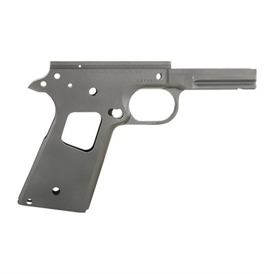1911 Recon Government Frames - 1911 Recon Receiver, Carbon, Smooth Checkering