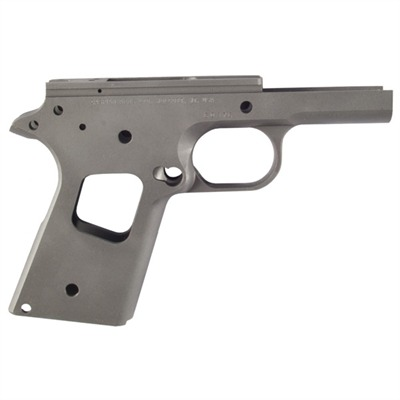 Caspian 1911 Officer Receiver Un-Ramped, Carbon, Smooth