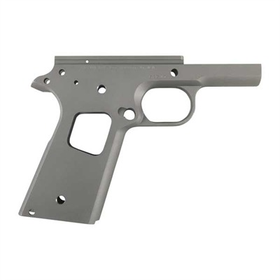 1911 Commander Recever Frame, Standard, Smooth, C/S - Commander Receiver W/Std, Carbon, Smooth Check