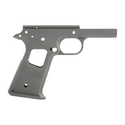 1911 Race Ready Government Frames - Race Ready Receiver, Carbon, Smooth