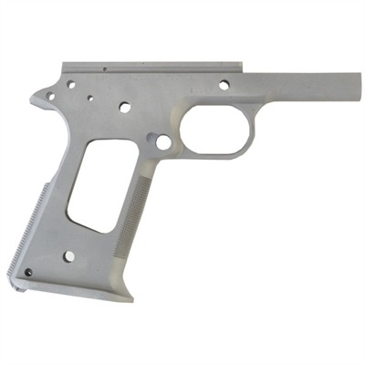 1911 Race Ready Government Frames - Race Ready Receiver- Carbon- Checkered