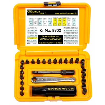 Deluxe Gun Screwdriver Set