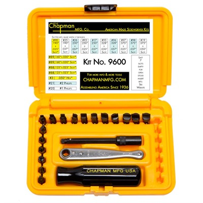 Chapman Screwdriver Set