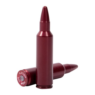 A-Zoom Ammo Snap Cap Dummy Rounds - 300 Wsm Snap Caps 2/Pack thumbnail