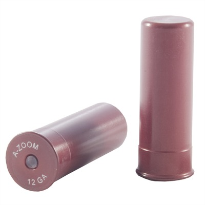 A-Zoom Ammo Snap Cap Dummy Rounds - 12 Gauge Snap Caps 2/Pack