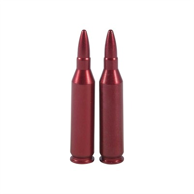 A-Zoom Ammo Snap Cap Dummy Rounds - 243 Winchester Snap Caps 2/Pack