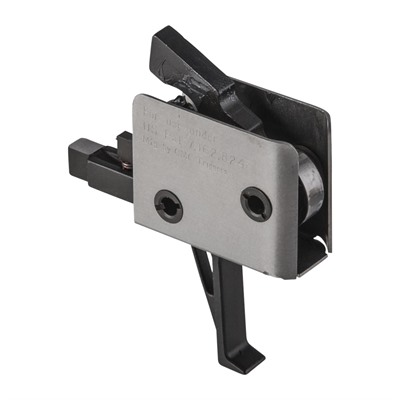 Ar-15 Tactical Trigger Group - Single Stage Trigger Flat 4 Lb Pull