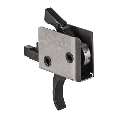 Ar-15 Tactical Trigger Group - Single Stage Trigger Curved 5 Lb Pull