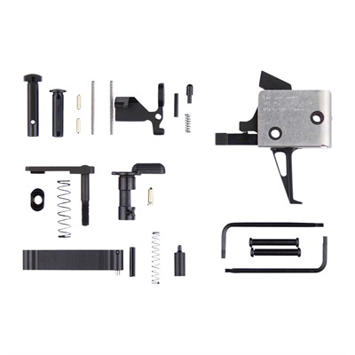 Cmc Triggers Ar 15 Lower Parts Kit With Triggers Lower Parts Kit With Trigger Single Stage Flat 3 Lb