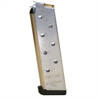Chip Mccormick Custom, Llc. 1911 8rd 45acp Power Magazines