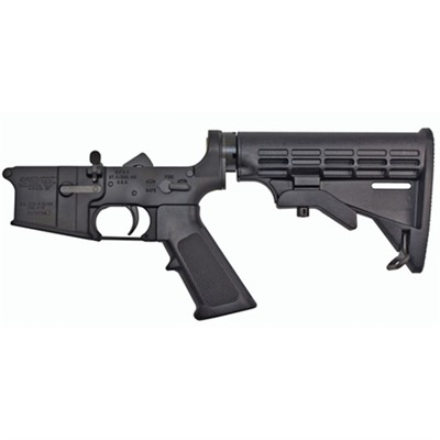 Ar-15 Lower Receiver Complete With M4 Stock Assembly