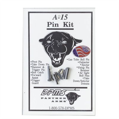 Ar-15 Pin Kit Bp-03 Ar-15 Pin Kit : Rifle Parts by Dpms for Gun & Rifle