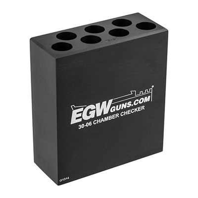 Egw 7-Hole Chamber Checkers - .30-06 7-Hole Cartridge Checker