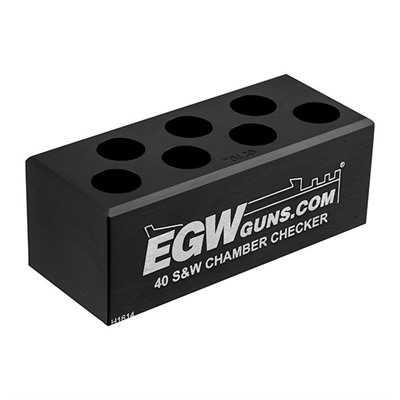 Egw 7-Hole Chamber Checkers - .45 Acp 7-Hole Cartridge Checker