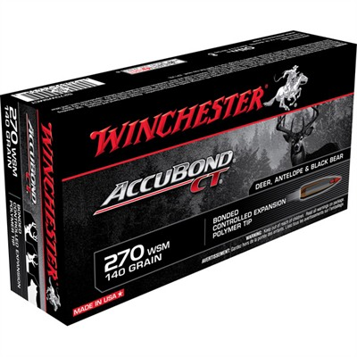 Supreme Accubond Ct Rifle Ammo