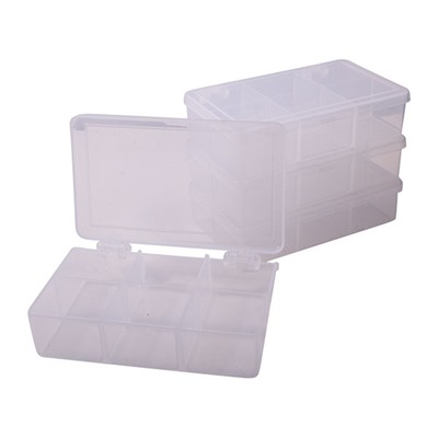 Brownells Compartment Boxes 4 1 2 x2 3 4 x1 1 4 6 Compartments Pkg Of 4