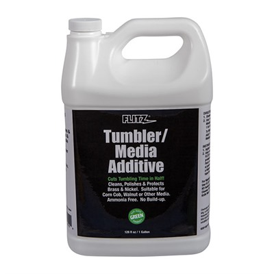 Flitz Tumbler/Media Additive - Tumbler Media Additive 128oz