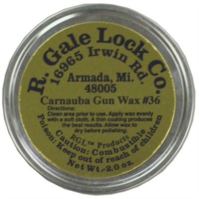 R. Gale Lock Carnauba Gun Wax
