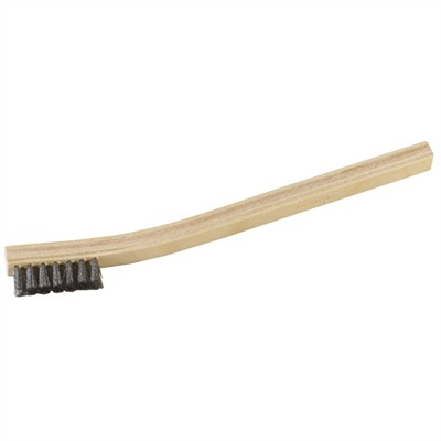 Brownells Heavy-Duty Gunsmith Brushes - S/S, Crimped Wire