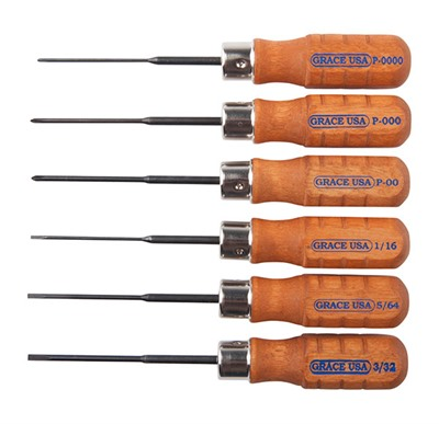 6 Piece Micro Screwdriver Set