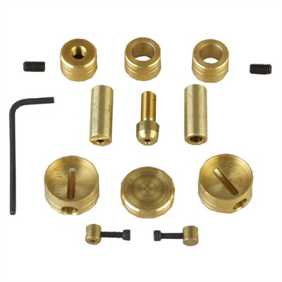 100 Straight Products Adjustable Disk Hardware Kit - Adjustable Disk Hardware Kit Gold Brass