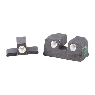 Tru Dot Day/Night Sights Set (Fixed Green/Green) Glock 10mm & 45 Cal U.S.A. & Canada