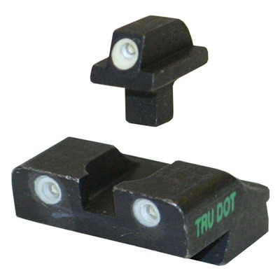 Tru-dot~ Day / night Sights 9 / 40 Springfield Xd Night Sight-grn / or : Handgun Parts by Meprolight for Gun & Rifle
