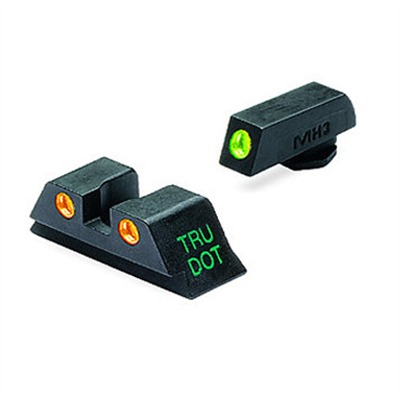 Tru-Dot~ Tritium Night Sight Sets For Glock~