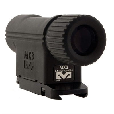 Mepro Mx3 Magnifier - 3x Magnifier For Reflex And Red Dot Sights