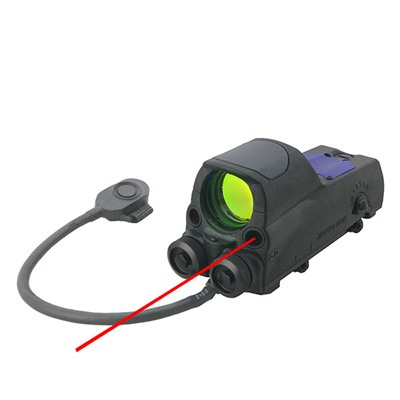 Mor Reflex Sights - Mor Reflex Sight W/Red Laser Bullseye Reticle