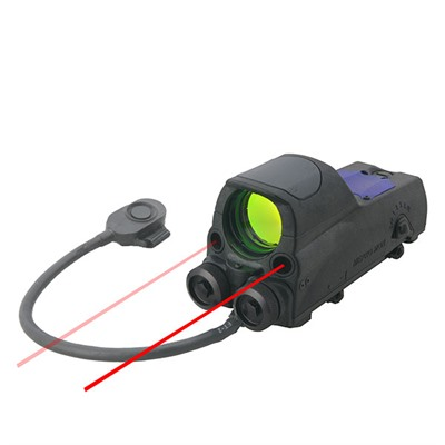 Mor Reflex Sights - Mor Reflex Sight W/Red & Ir Laser Bullseye Reticle