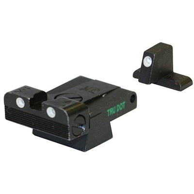 Meprolight Hk Usp Tru-Dot Adjustable Night Sight Set - Adjustable Sight, Fits H&K Usp (Adj.,Full Size)