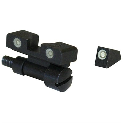 Meprolight S&W Revolver Tru-Dot Adjustable Night Sight Set - Day/Night Sight, Fits *s&K K/L/N (Adj.) Use Loctite #609
