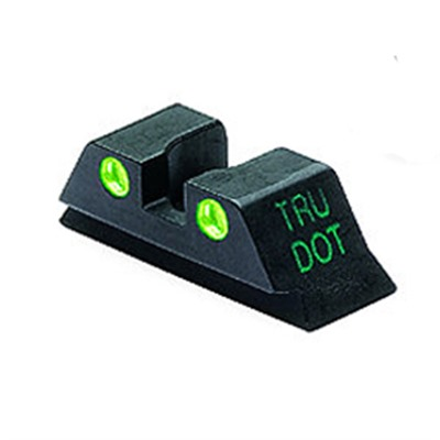 Meprolight Rear Tru-Dot Night Sights For Glock - Glock 10mm/45acp G Rear Sight Td