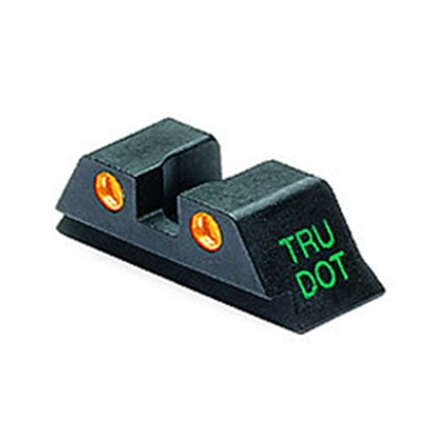 Meprolight Rear Tru-Dot Night Sights For Glock - Glock 10mm/45acp O Rear Sight Td