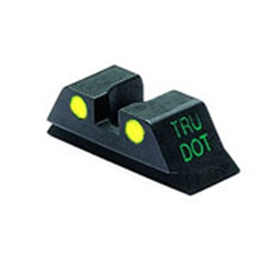 Meprolight Rear Tru-Dot Night Sights For Glock - Glock 10mm/45acp Y Rear Sight Td