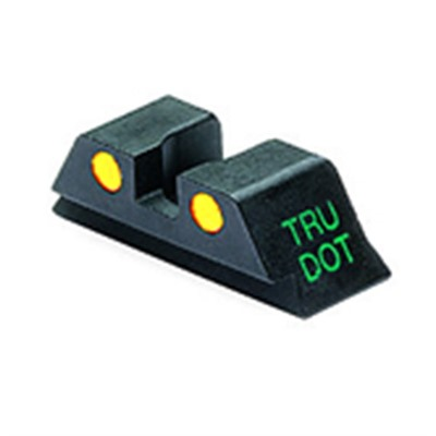 Rear Tru-Dot Night Sights For Glock™ - Glock 9/357sig/40/45gap Y Rear Sight Td