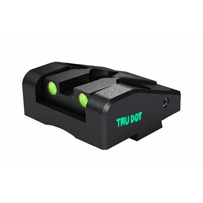 Meprolight Rear Tru-Dot Night Sights For Glock - Glock Ad-Com Adj. Rear Sight Td