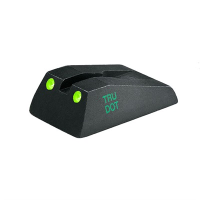 Meprolight Ruger Rear Tru-Dot Night Sights - Ruger Sr9,Sr9c,Sr40,Sr40c Rear Sight Td