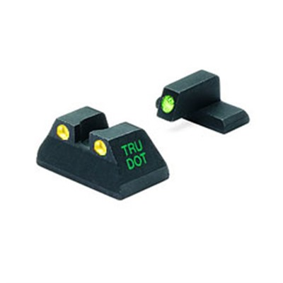 Meprolight Hk Tru-Dot Tritium Night Sight Sets - Hk Usp Full Size 40/45acp G/Y Fixed Set Td