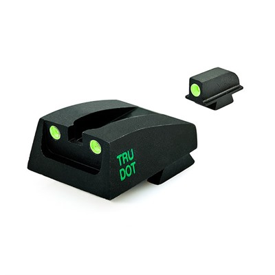 Meprolight Para Ordnance Lda Tru-Dot Tritium Night Sight Set - Para Lda (Slanted Serr.) (Post-2007) Fixed Set Td